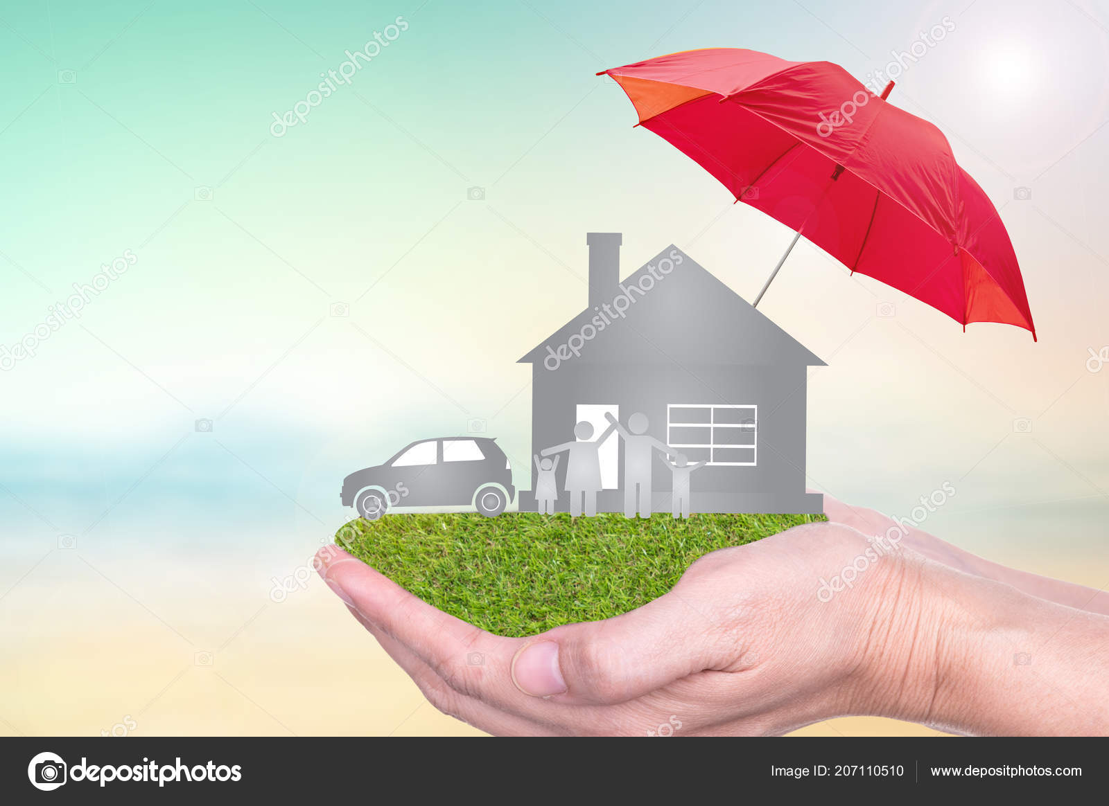 Car And Home Insurance >> Insurance Concept Car Insurance Life Insurance Home