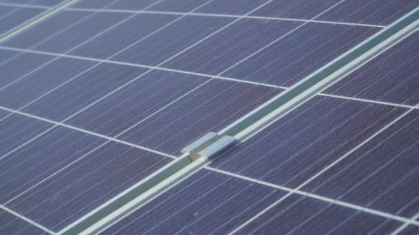 Close up of photovoltaics panels