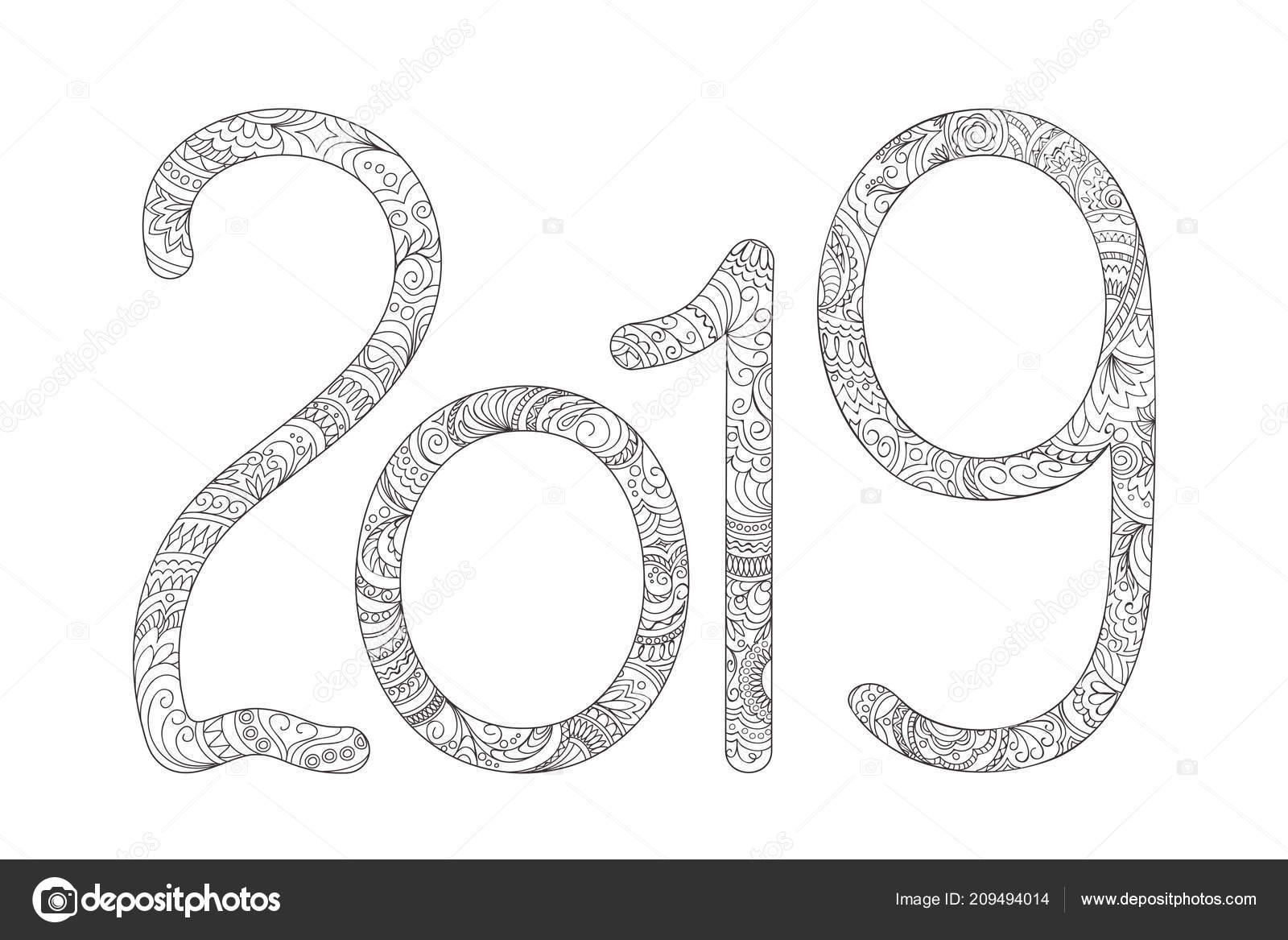 Yeni Yıl Boyama 2019