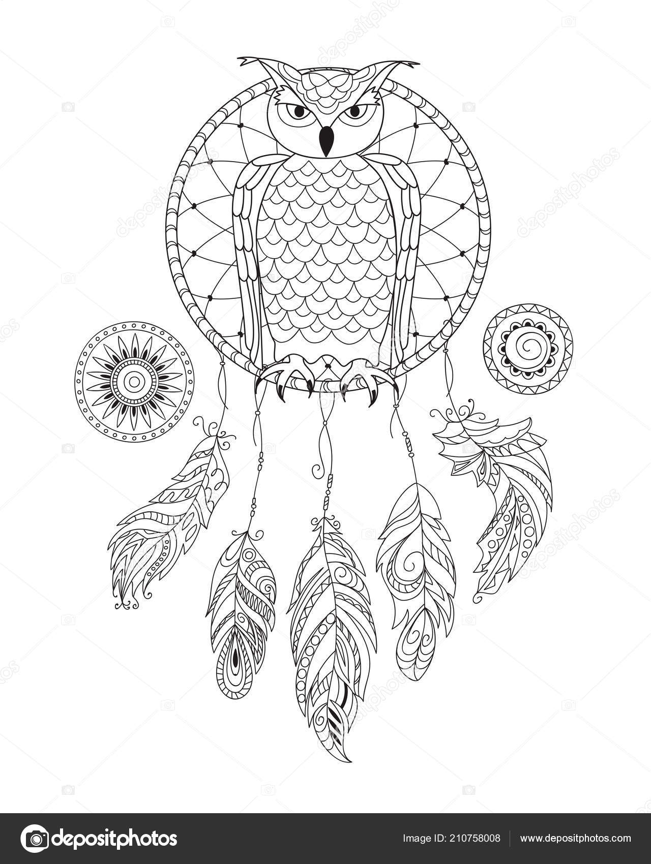 Owl Mandala coloring page | Free Printable Coloring Pages | 1700x1280