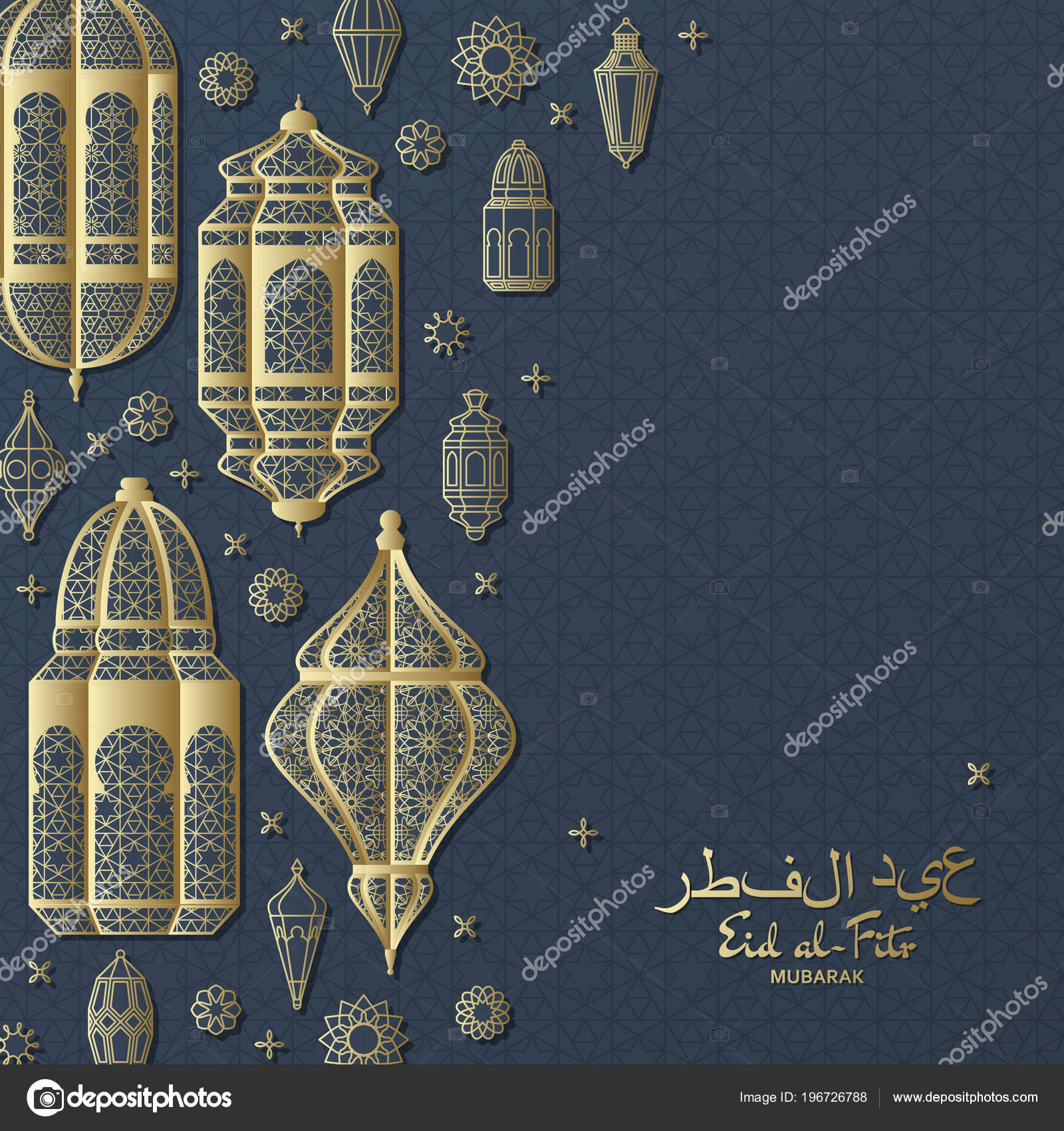 Best Hijri Eid Al-Fitr Greeting - depositphotos_196726788-stock-illustration-eid-al-fitr-background-islamic  Trends_642965 .jpg