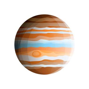 Gas giant - planet Jupiter (biggest Solar System planet)