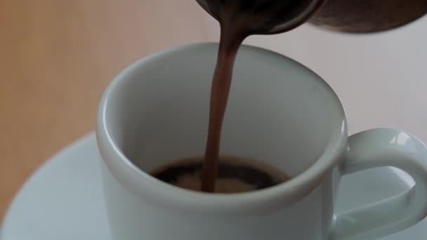 Öntés kávé kávé csésze kávé pot