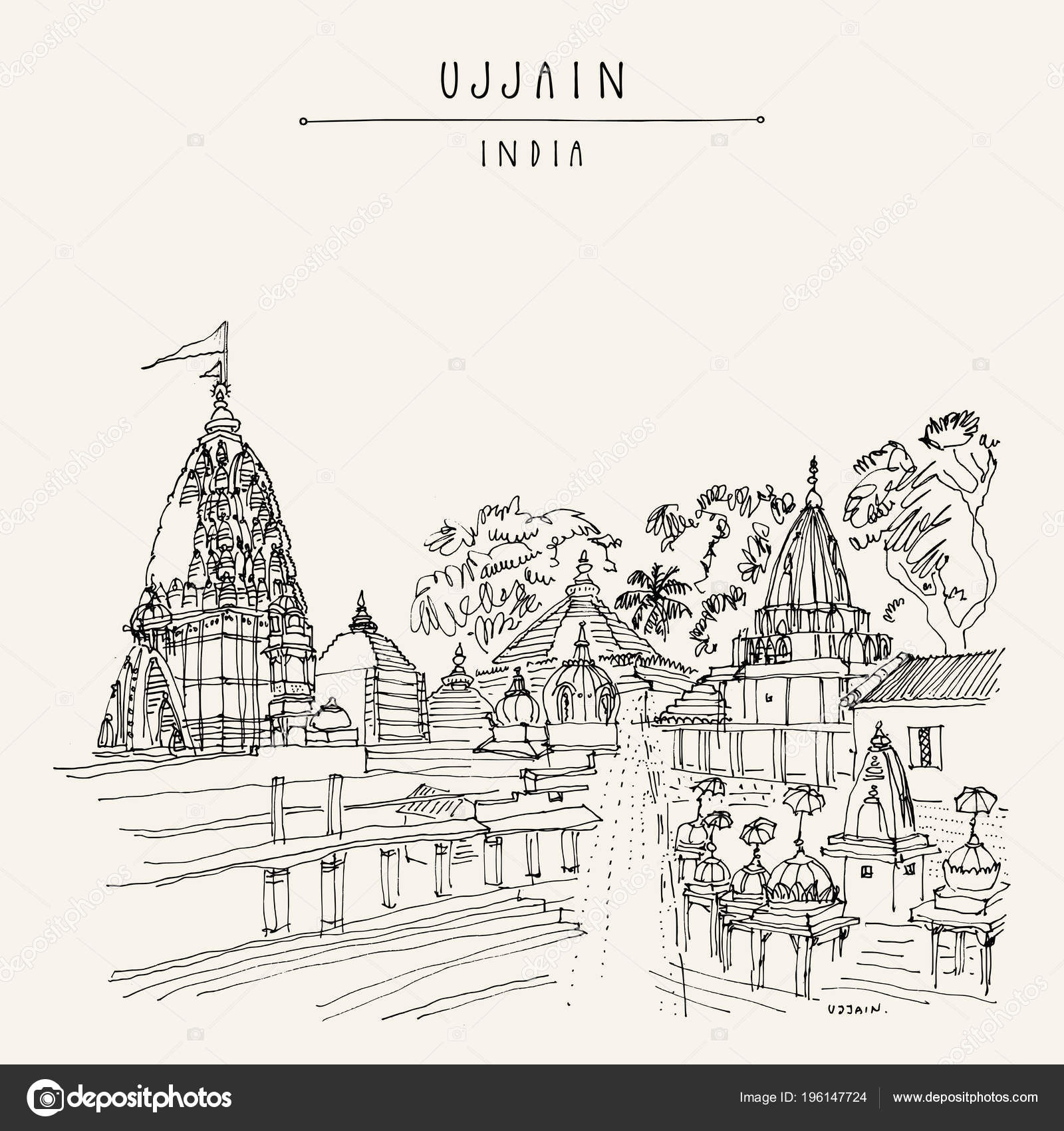 Mahakal drawing
