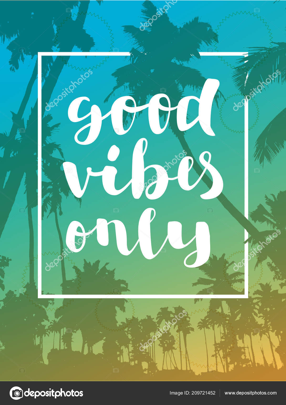 good vibes only deutsch