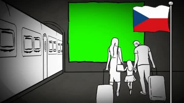 Česká republika ručně tažené cestovního ruchu