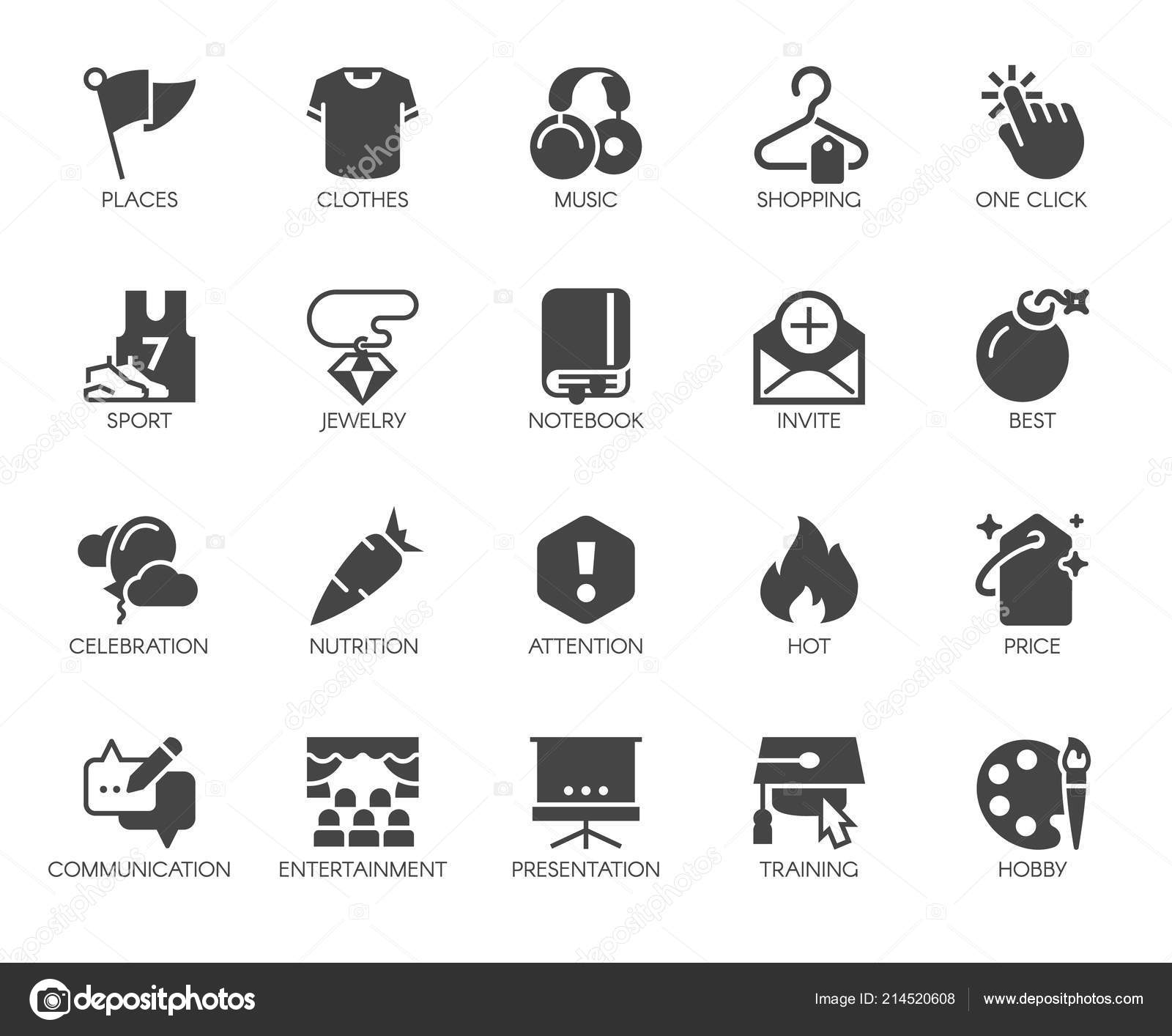 1f1ff7597 20 ícones pretos lisos em esportes