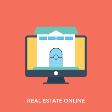 Buying and selling of property through a website