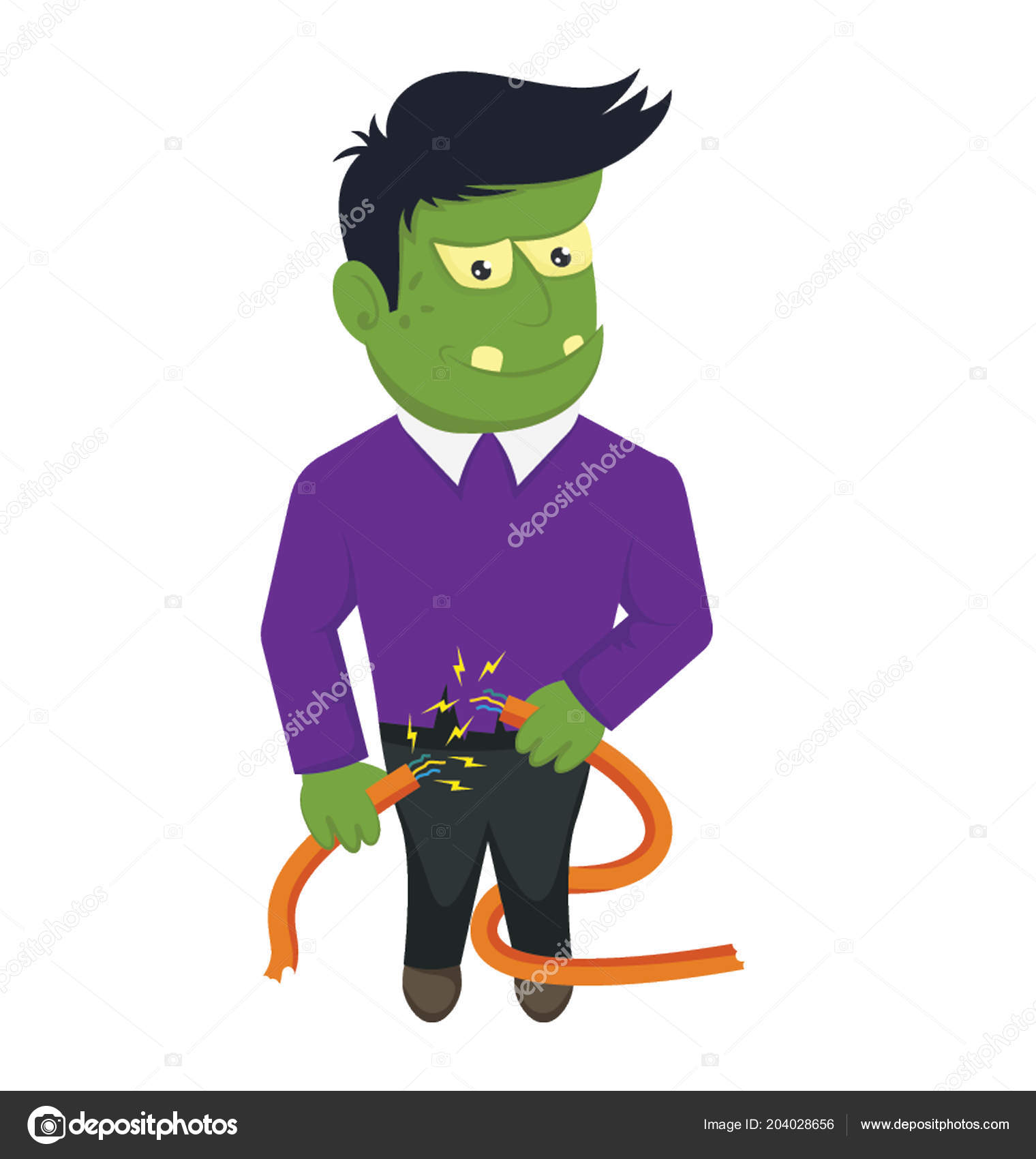 Pics Lurch Famous Giant Character Lurch Addams Family Cartoon Bewitching Icon Frankenstein Stock Vector C Vectorsmarket 204028656