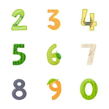 Preschool Flat Vector Icons