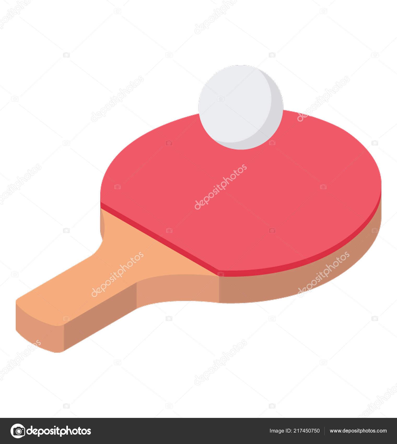 2b57a16d3 Tênis Mesa Raquete Ping Pong Bola Atividade Recreativa — Vetores de Stock