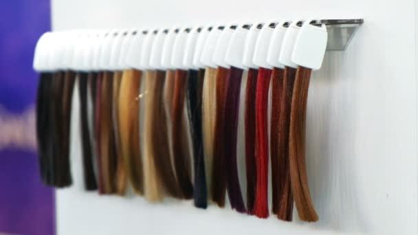 hajfesték szál minták fodrász