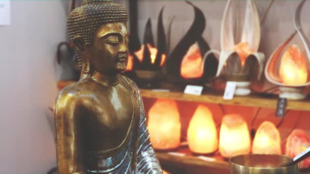buddha szobor figyelem misztikus meditáció háttér