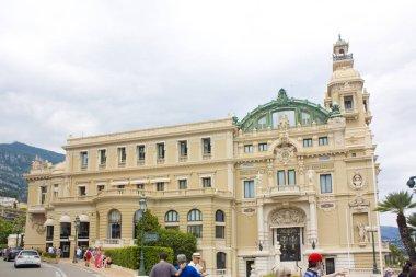 Monaco, Monte-Carlo - June 22, 2018: Opera Monte-Carlo in Monaco