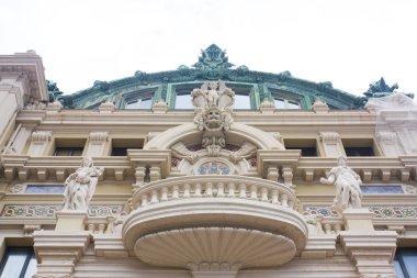 Monaco, Monte-Carlo - June 22, 2018: Fragment of Opera Monte-Carlo in Monaco