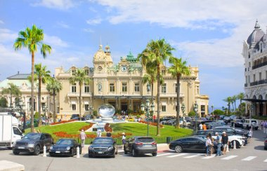 Monaco, Monte-Carlo - June 22, 2018:Casino Monte-Carlo in Monaco