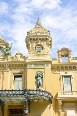 Monaco, Monte-Carlo - June 22, 2018: Casino Monte-Carlo in Monaco