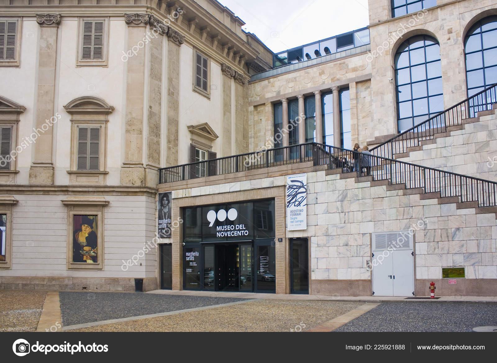 Museo Del 900 Milano.Italy Milan November 2018 Museum Twentieth Century Museo Del