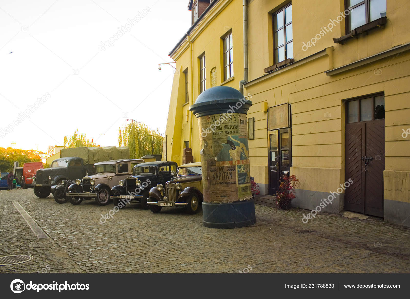 Lublin Poland October 2018 Action Movie Main Plot Takes Places