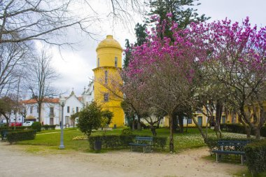AVEIRO, PORTUGAL - March 3, 2019: Infante Don Pedro Park in Aveiro