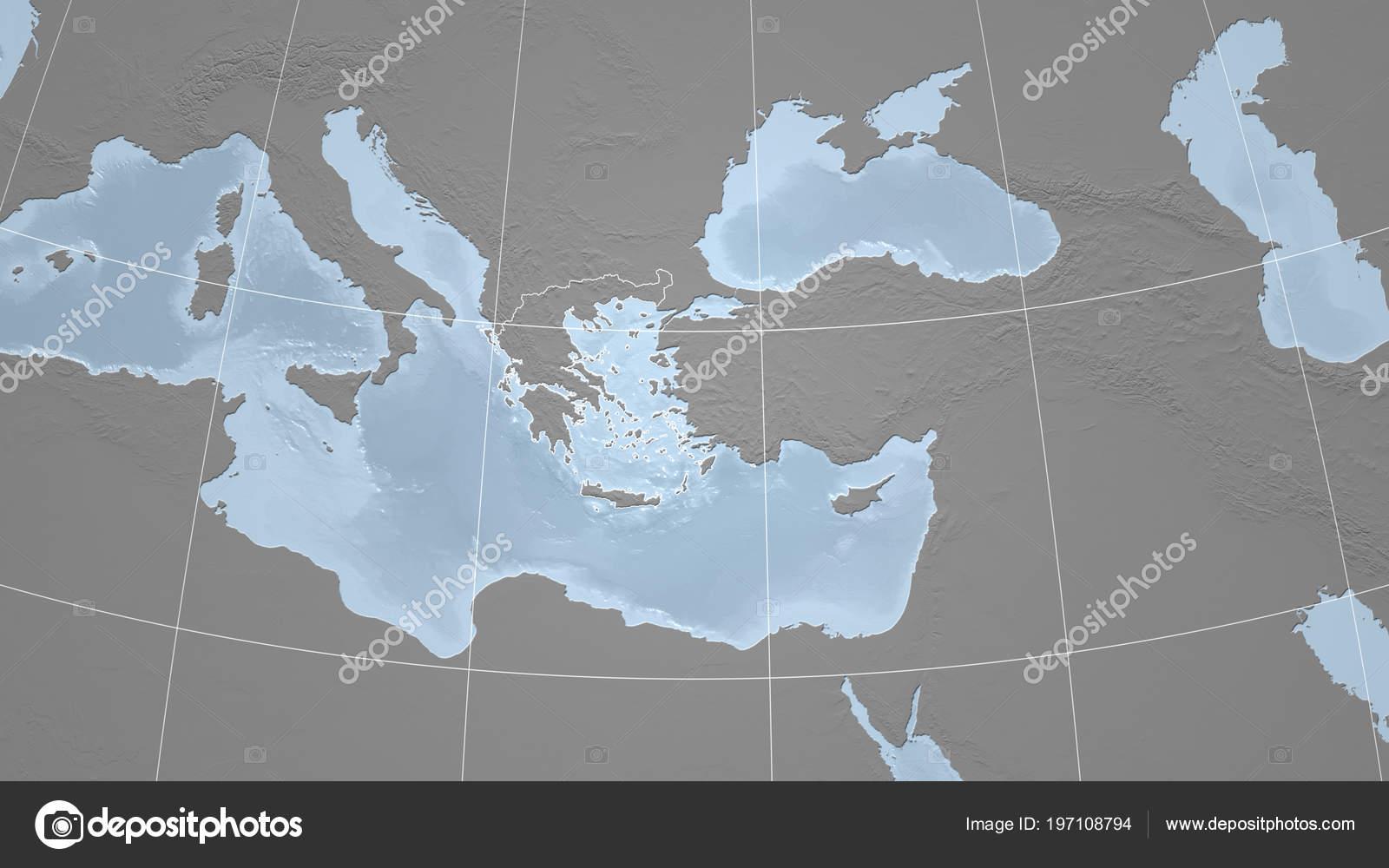Greece Neighborhood Distant Perspective Outline Country Bilevel