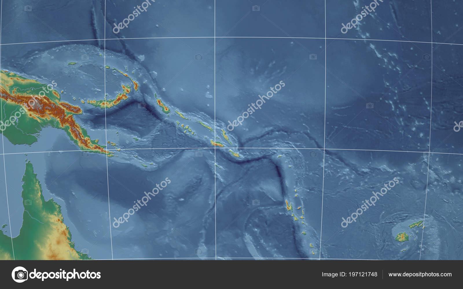 Salomón Barrio Sin Perspectiva Distante Mapa Las Islas Contorno stQxhrdC