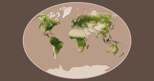 Vegetation: Saisonale Veränderungen (Apr 2012 - Apr 2013). fahey Projektion. nasa / noaa Datensatz-ID: 407