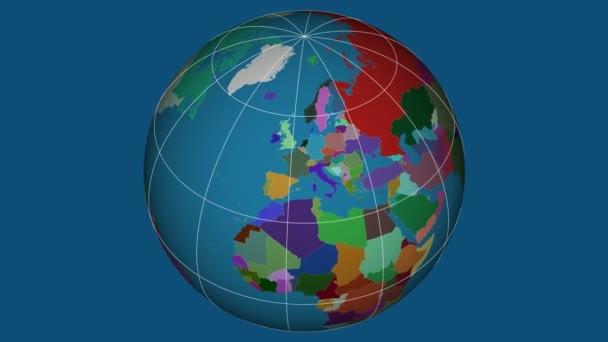 Zoom-in na Slovensku na celém světě. Kapitál, administrativní hranice a nitkového kříže. Administrativní rozdělení