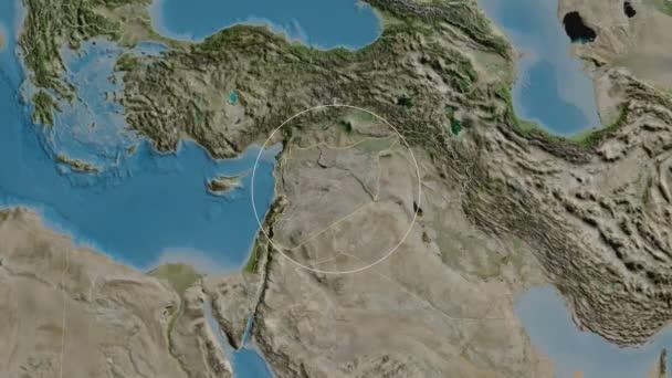 Hims-provincie Sýrie Satelitní
