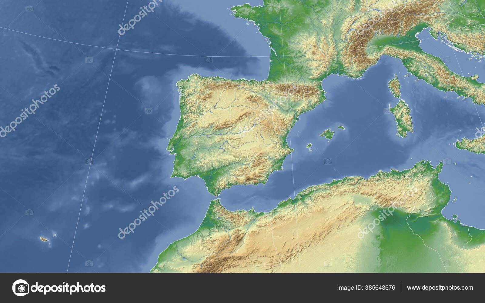 Cartina Fisica Spagna Con Fiumi.Foto Cartina Fisica Spagna Immagini Cartina Fisica Spagna Da Scaricare Foto Stock Depositphotos