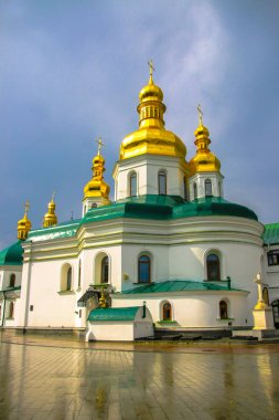 The Kiev-Pechersk Lavra is one of the first monasteries founded by Kievan Rus. One of the most important Orthodox shrines.