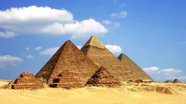 Starověké egyptské pyramidy, symbolem Egypta.
