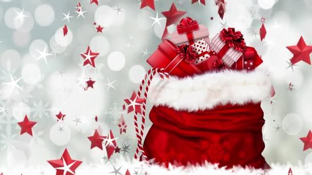 Slavnostní vánoční pozadí, šťastný nový rok přání