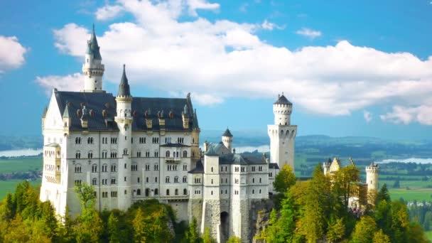 Schloss Neuschwanstein in Süddeutschland