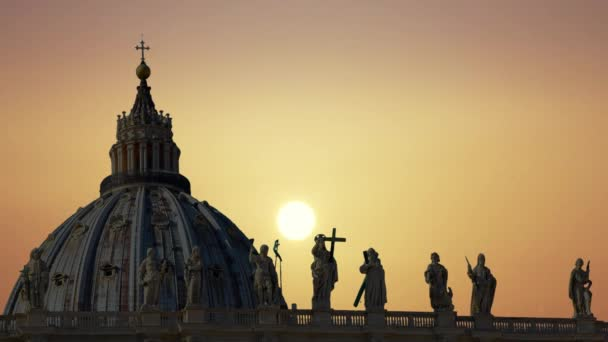 The magnificent Cathedral of St. Peter in the Vatican