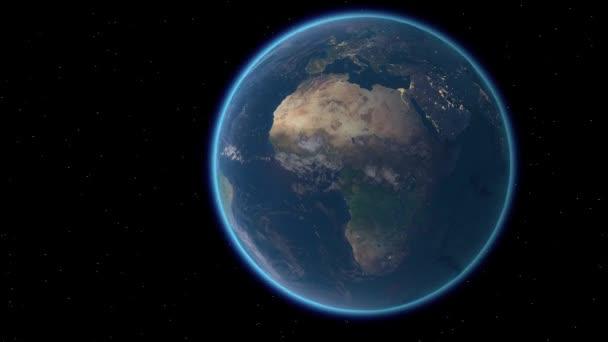 Létání nad zemským povrchem, 3D vykreslování.