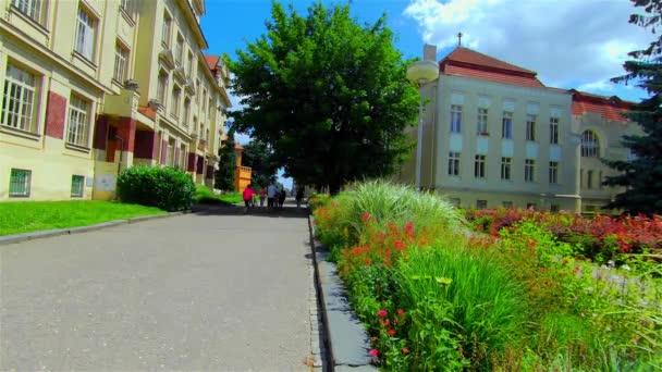 Historic Building of Primary School, Europe, CZ, Prostejov