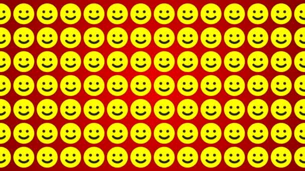Smile happy red yellow background traffic horisontal