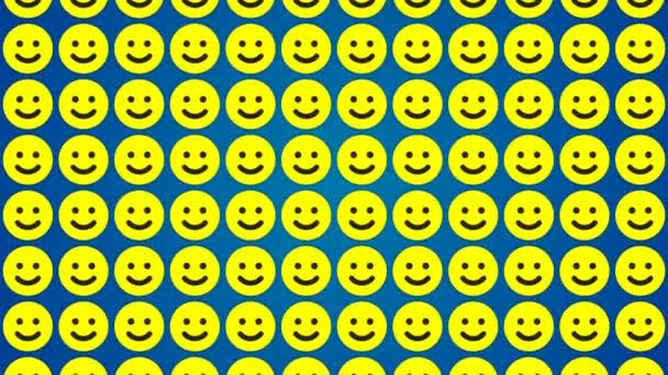 Smile happy blue background traffic vertical