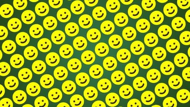 Smile happy zelené pozadí provoz diagonální