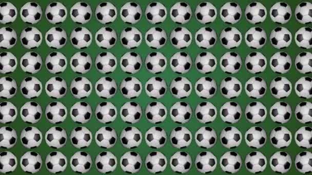 Futball labda futball zöld háttér minta