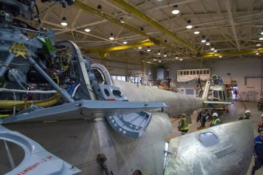 Aircraft repair helicopter plant