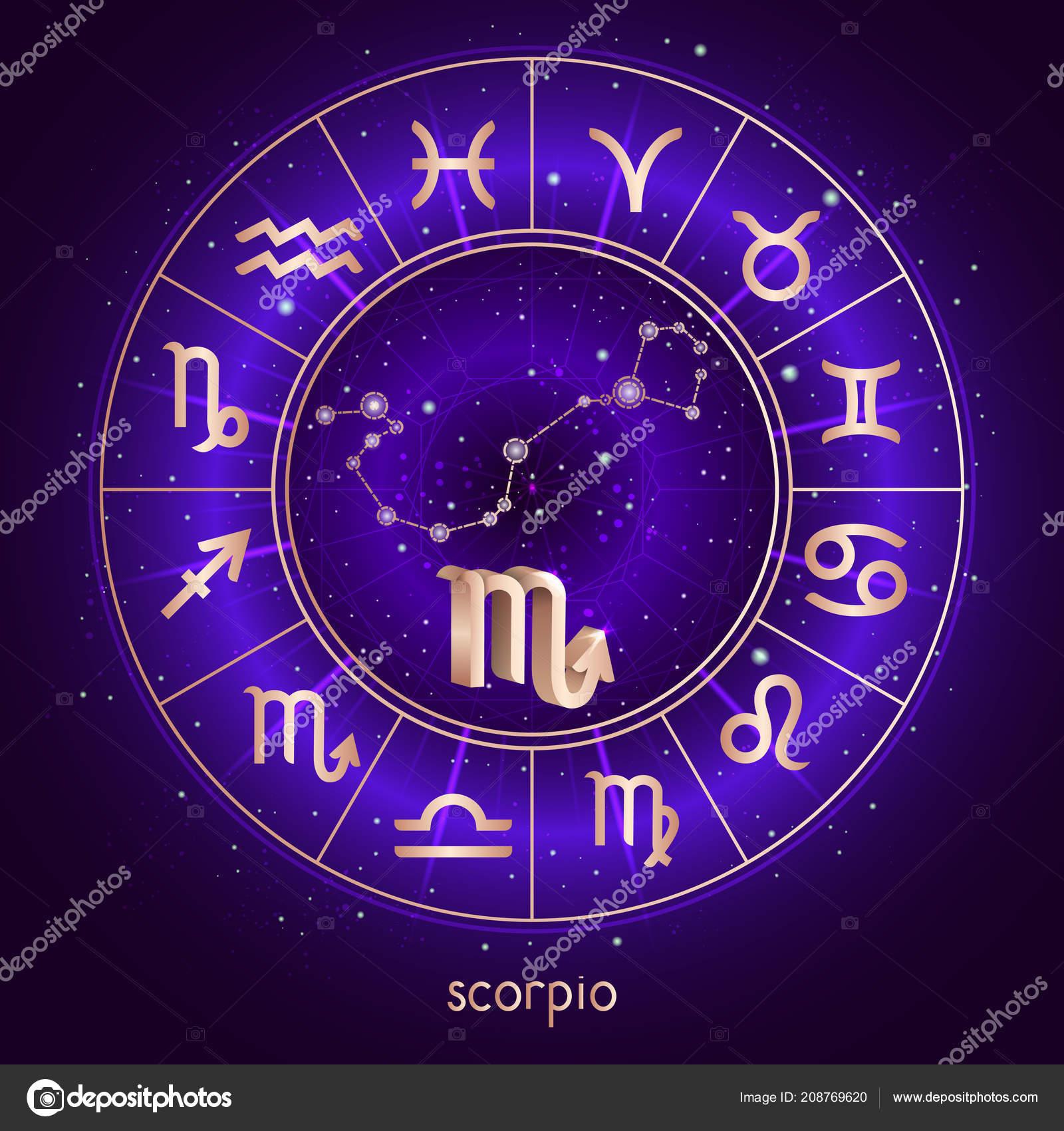 sternzeichen und sternbild skorpion horoskop kreis und. Black Bedroom Furniture Sets. Home Design Ideas