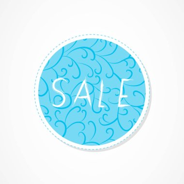 Sale, Big sale, For you, Super sale, Discounts inscription on decorative round backgrounds with abstract pattern. Hand drawn lettering. Vector illustration