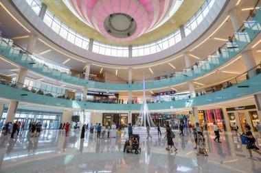Grand Atrium inside Dubai Mall