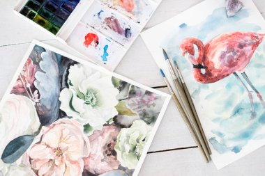 artwork painting hobby leisure watercolor picture