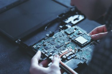 computer hardware microelectronics motherboard