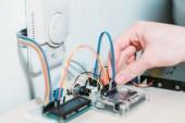 Smart home-System Installation von modernen Geräten