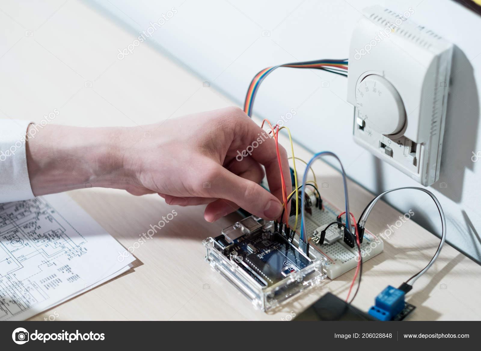 smart home system innovation effective design — stock photo