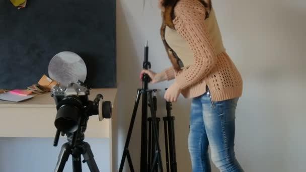 fotográfus fotózás felszerel berendezés készlet